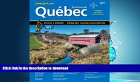 READ PDF Quebec Road Atlas (Mapart s Provincial Atlas) (English   French Edition) (English and