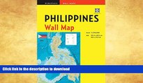 READ BOOK  Philippines Wall Map Second Edition: Scale: 1:1,750,000; Unfolds to 40 x 27.5 inches