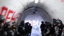 Walking the players tunnel at Marakana Stadium in Belgrade before the eternal derby!