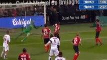 Younès Belhanda Goal HD - Guingamp 0-1 Nice - 30.11.2016 HD