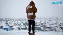 North Dakota Law Enforcement Blockades Protest Camp