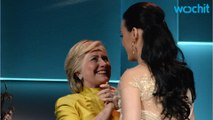 Hillary Clinton Surprises Katy Perry At UNICEF Event