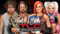 WWE TLC 2016 PPV - Match Card, Predictions, Rumors, Possible Results & Highlights