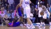 Crossover Or Offensive Foul? Kemba Walker VS Ish Smith