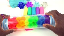 Sparkle Play doh Frozen Elsa Snowflakes Molds Modelling Clay Fun and Creative