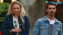 Joe Jonas & Sophie Turner Wear Matching Denim