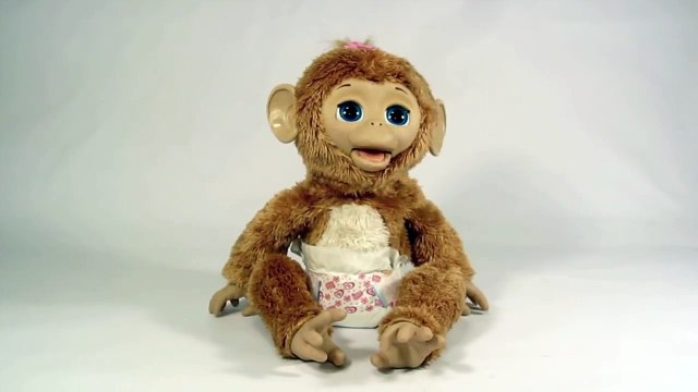 Furreal Friends Cuddles My Giggly Monkey Pet part4