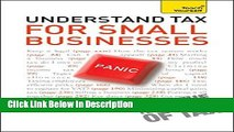 PDF Understand Tax for Small Businesses: Teach Yourself Epub Full Book