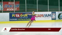 2017 SC Challenge Pre-Novice Women Short - Camille Boucher