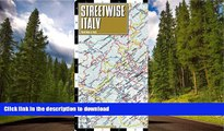 FAVORITE BOOK  Streetwise Italy Map - Laminated Country Road Map of Italy - Folding pocket size
