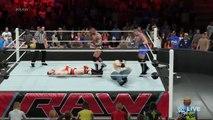 WWE 2K16 RAW SHEAMUS VS RANDY ORTON VS RVD VS LUKE HARPER