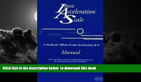 Pre Order Iowa Acceleration Scale Manual: A Guide for Whole-Grade Acceleration K-8 with Other