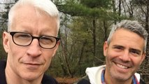 Anderson Cooper Recalls Almost Dating Andy Cohen -- But Says He Broke His 'Cardinal Rule'