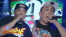 It's Showtime: Rap Guard vs Dhuski | Christmas Rapper