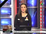 Argentinos rinden honores a Fidel Castro en la embajada de Cuba