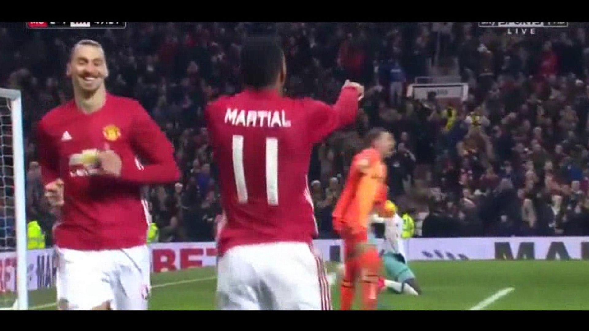 EFL Cup | Manchester United 4-1 West Ham United | Video bola, berita bola, cuplikan gol
