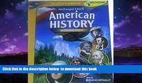 Pre Order McDougal Littell Middle School American History: Teacher Edition Beginnings to 1914 2008