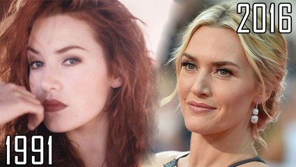 Kate Winslet (1991-2016) all movies list from 1991! How much has changed? Before and Now! Titanic, Finding Neverland, The Reader, The Holiday, Eternal Sunshine of the Spotless Mind, Revolutionary Road, The Dressmaker