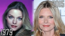 Michelle Pfeiffer (1979-2015) all movies list from 1979! How much has changed? Before and Now! Scarface, Dangerous Minds, Dark Shadows, Stardust, I Am Sam, White Oleander, Batman Returns