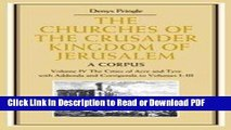 PDF The Churches of the Crusader Kingdom of Jerusalem: A Corpus