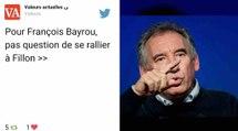 François Bayrou refuse de se rallier à François Fillon et le tacle !