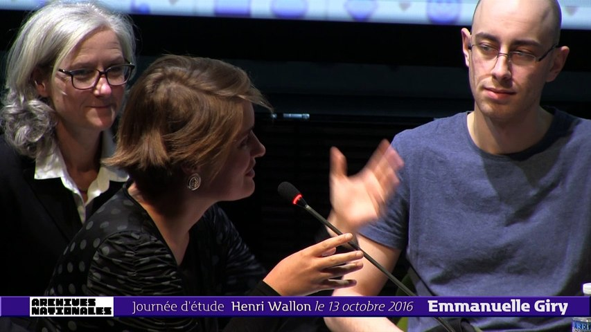 Emmanuelle Giry : Table ronde