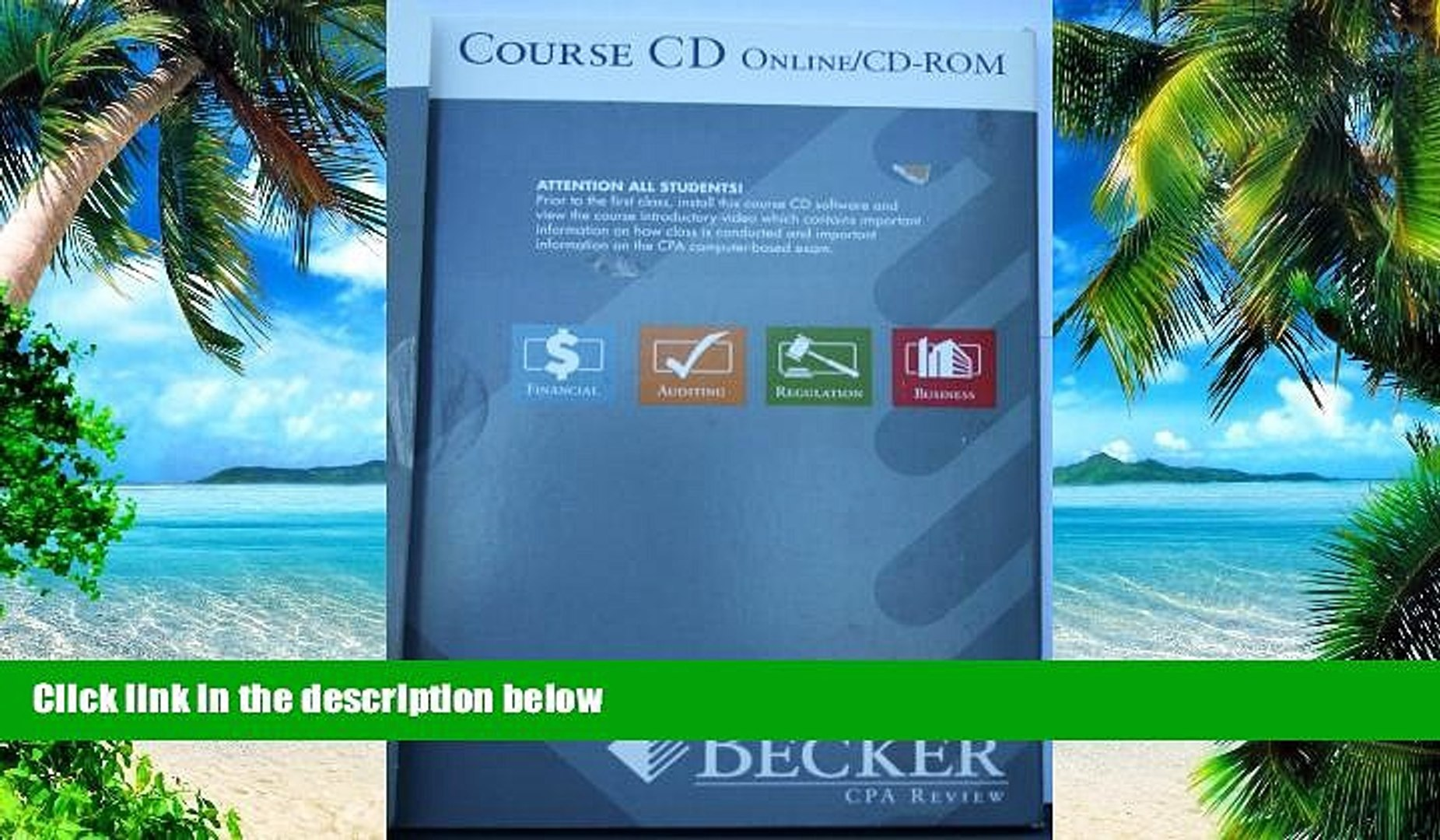 Best Price Becker CPA Review 2006 - Course CD Online/CD-ROM Becker CPA Review 2006 PDF