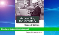 EBOOK ONLINE  Accounting for Inventory: Second Edition  BOOK ONLINE