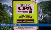 Online Patrick R. Delaney Wiley Cpa Examination Review 1997-1998: Outlines and Study Guides (24th