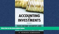 FREE DOWNLOAD  Accounting for Investments, Fixed Income Securities and Interest Rate Derivatives: