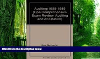 Best Price Auditing/1988-1989 (Cpa Comprehensive Exam Review. Auditing and Attestation) Nathan M.
