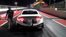 This Nissan GT-R doing 336 kmh in less then 7 seconds!!