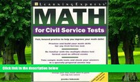 Best Price Math for Civil Service Tests LearningExpress LLC Editors On Audio