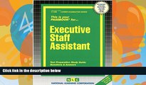 Pre Order Executive Staff Assistant(Passbooks) (Career Exam Ser, C-1280) Jack Rudman mp3