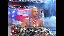 Chris Benoit & Kurt Angle vs Rey Mysterio & Edge WWE Tag Team Titles Match No Mercy 2002