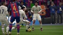 FIFA 17/BAR-REAL : Sans Varane et Benzema, le Real reste solide mais…