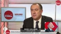 """Le lapsus de Didier Guillaume sur la """"démission"""" de François Hollande - ZAPPING ACTU DU 01/12/2016"""