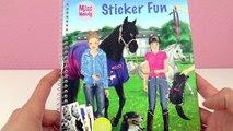 NEUER STYLE im MISS MELODY STICKER Fun Heft mit PFERDE Stickern | Spiel mit mir Kinderspielzeug