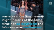 Bella Hadid and The Weeknd reunite at the VS Fashion Show, Twitter goes crazy