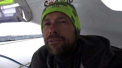 Tour du Monde Sodebo J+25 - La 9ème vidéo du bord après 2 jours de Pacifique