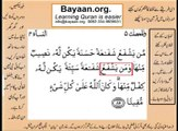 Quran in urdu Surah AL Nissa 004 Ayat 085 Learn Quran translation in Urdu Easy Quran Learning