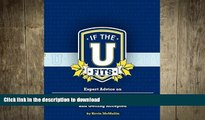 FAVORIT BOOK If the U Fits: Expert Advice on Finding the Right College and Getting Accepted READ