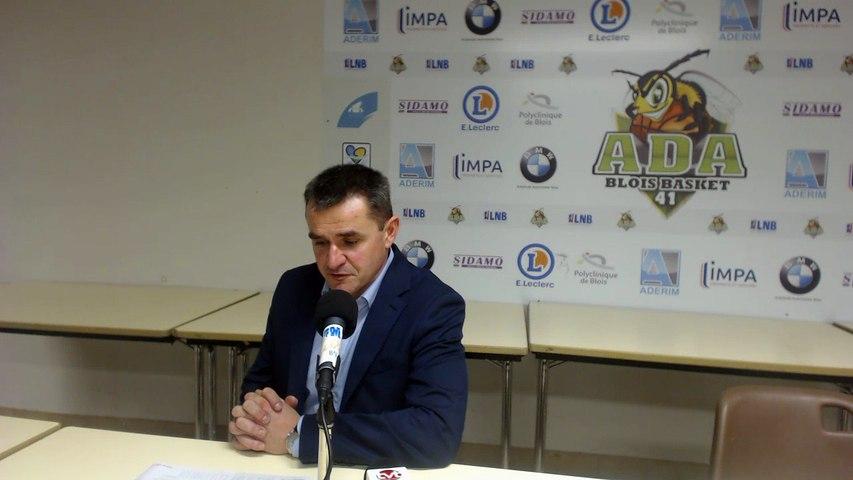 Conférence de Presse - Mickaël Hay (ADA Blois vs Saint-Quentin)
