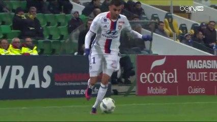 Le très beau travail de Ghezzal sur le premier but lyonnais contre Nantes