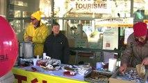 D!CI TV :Les pompiers de serres toujours au rendez-vous et faible mobilisation à Laragne pour le Téléthon 2016.