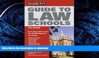 Pre Order Guide to Law Schools (Barron s Guide to Law Schools) #A# Full Book