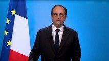 François Hollande n'est pas candidat à l'élection présidentielle