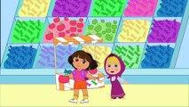 Masha Et Dora Paw Patrol sauveurs 3 Doigt de la Famille des Comptines