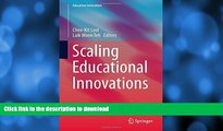 Best books  Scaling Educational Innovations (Education Innovation Series)