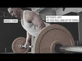 How To Do a Barbell Bent-over Row